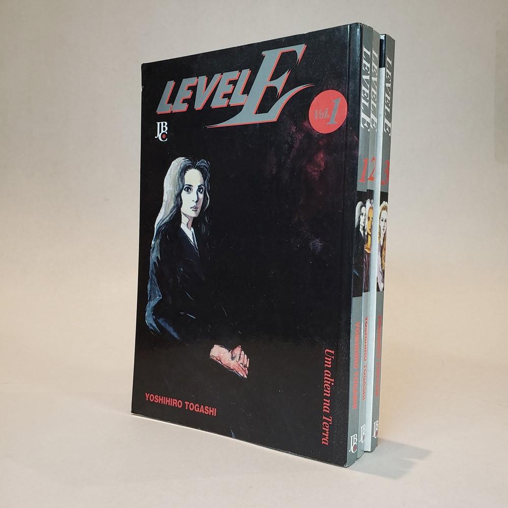Level E - 1 ao 3 - Coleção Completa - Pack