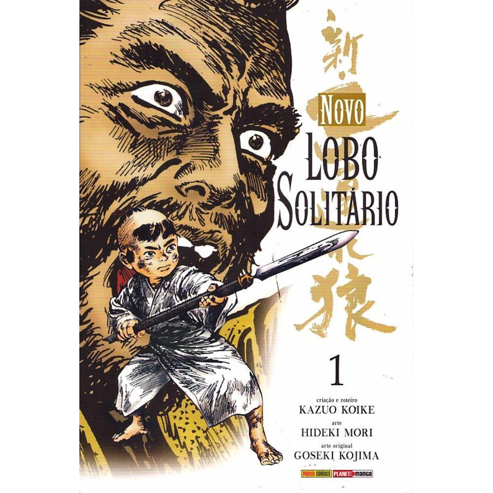 Lobo Solitário - Novo - Volumes Avulsos