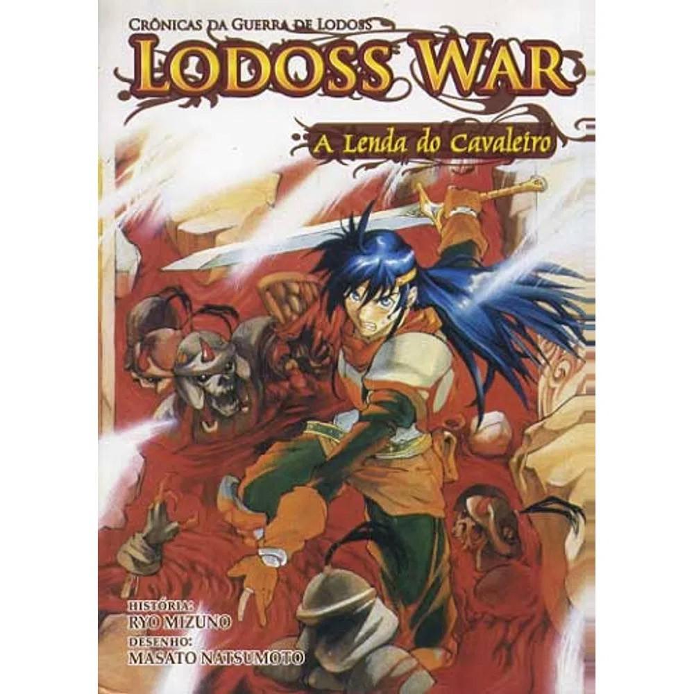 Lodoss War -  A Lenda do Cavaleiro - Volume 03 - Usado