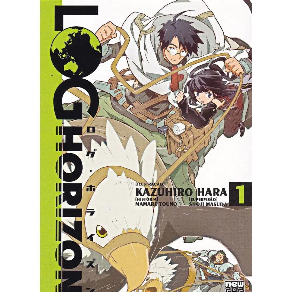 Log Horizon - Volume 01 - Usado