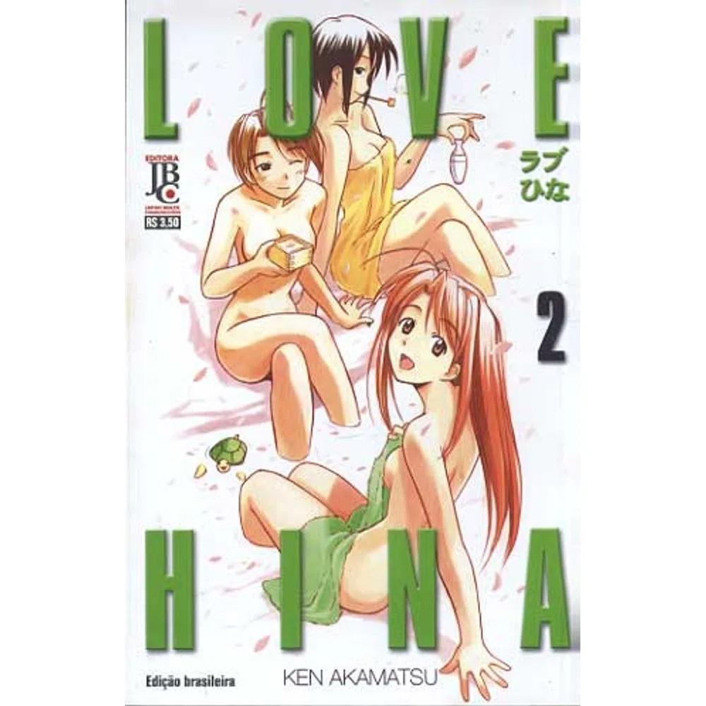 Love Hina - 1ª Edição - Volume 02 - Usado