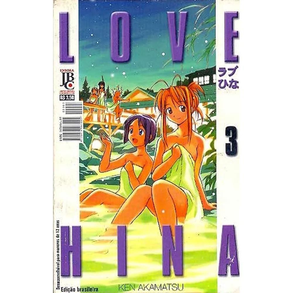 Love Hina - 1ª Edição - Volume 03 - Usado