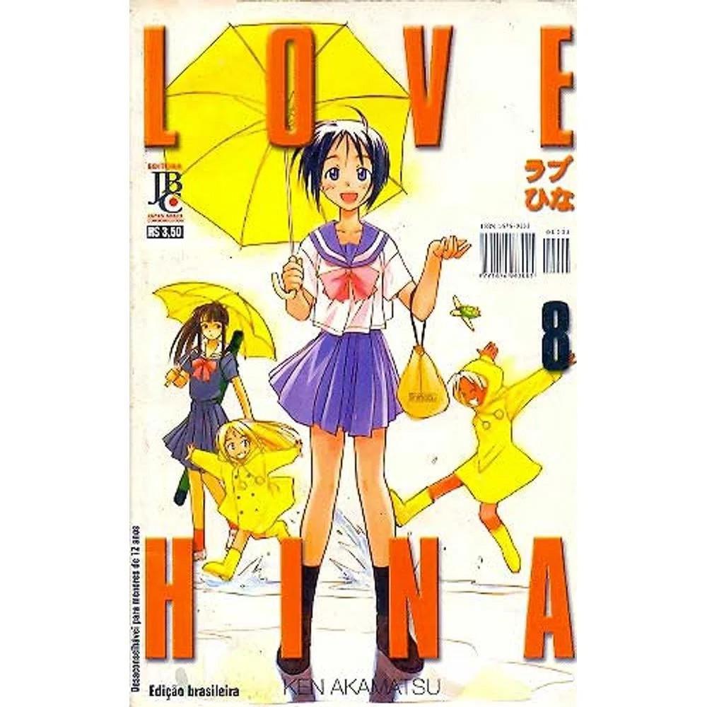 Love Hina - 1ª Edição - Volume 08 - Usado