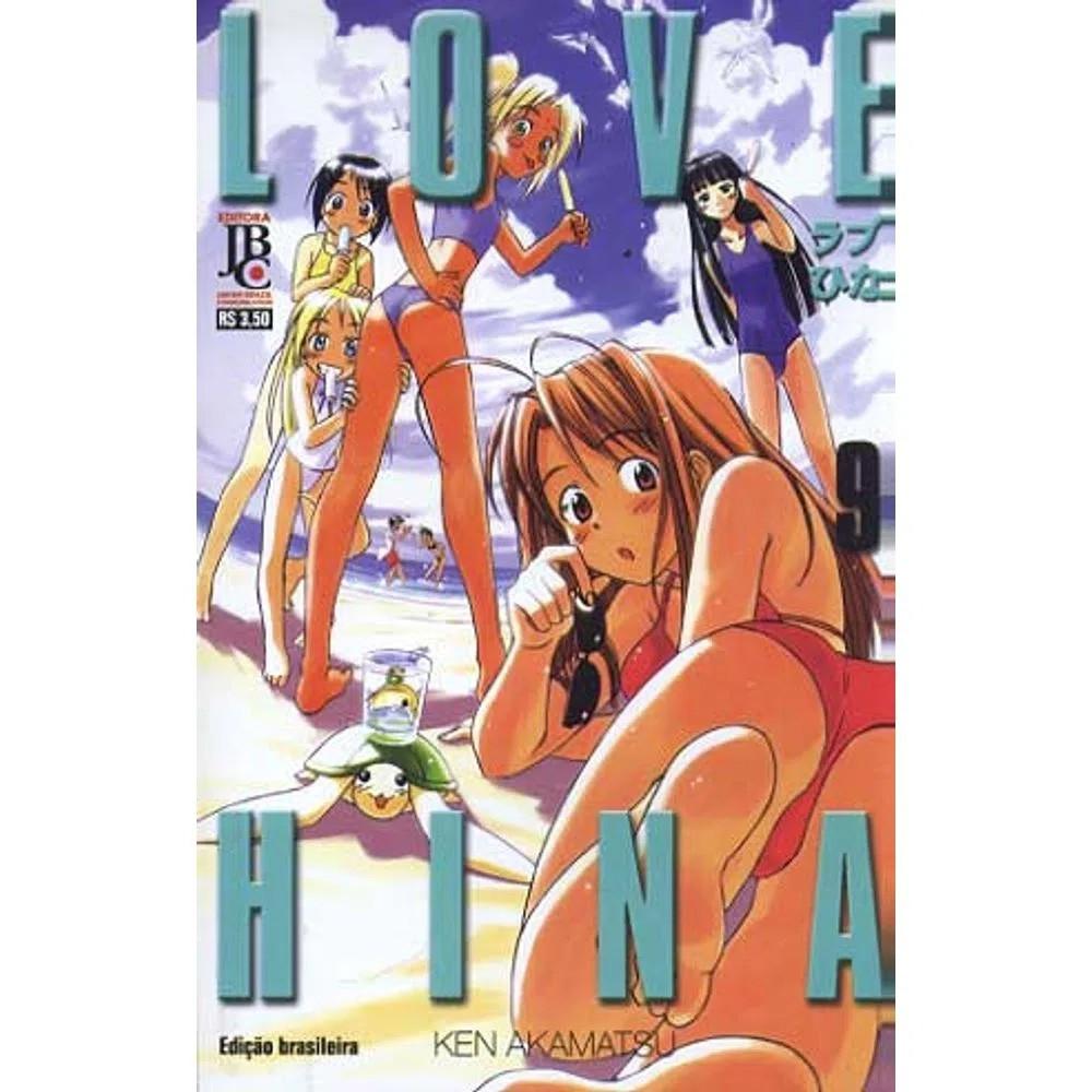 Love Hina - 1ª Edição - Volume 09 - Usado