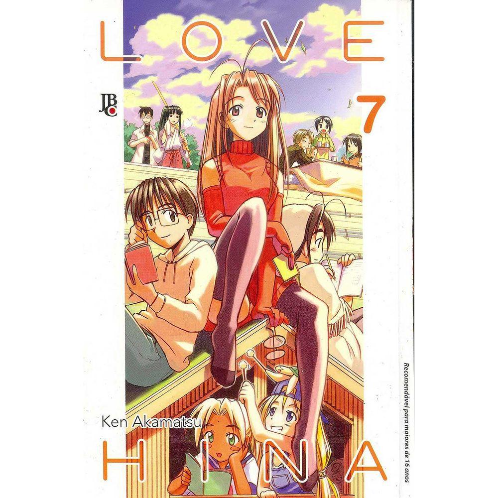 Love Hina - Volume 07 - Usado