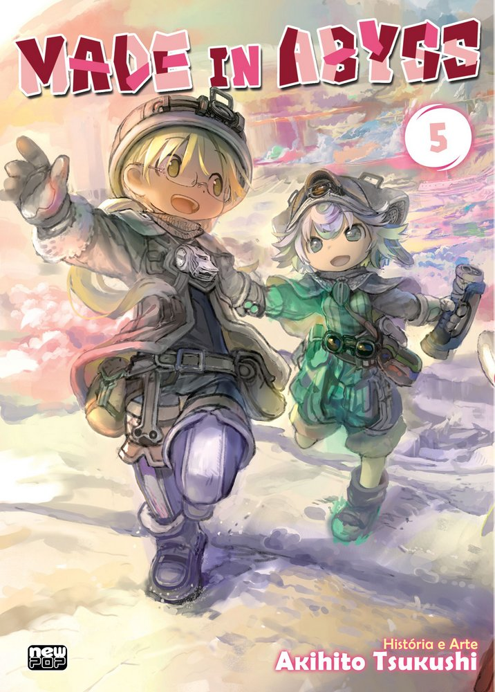Made In Abyss - Volume 05 - Usado