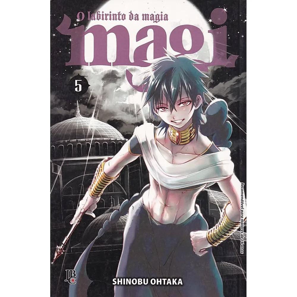 Magi O Labirinto da Magia - Volume 05 - Usado