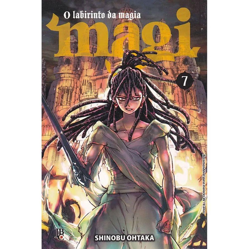 Magi O Labirinto da Magia - Volume 07 - Usado