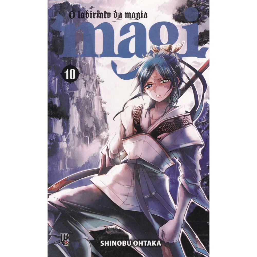 Magi O Labirinto da Magia - Volume 10 - Usado