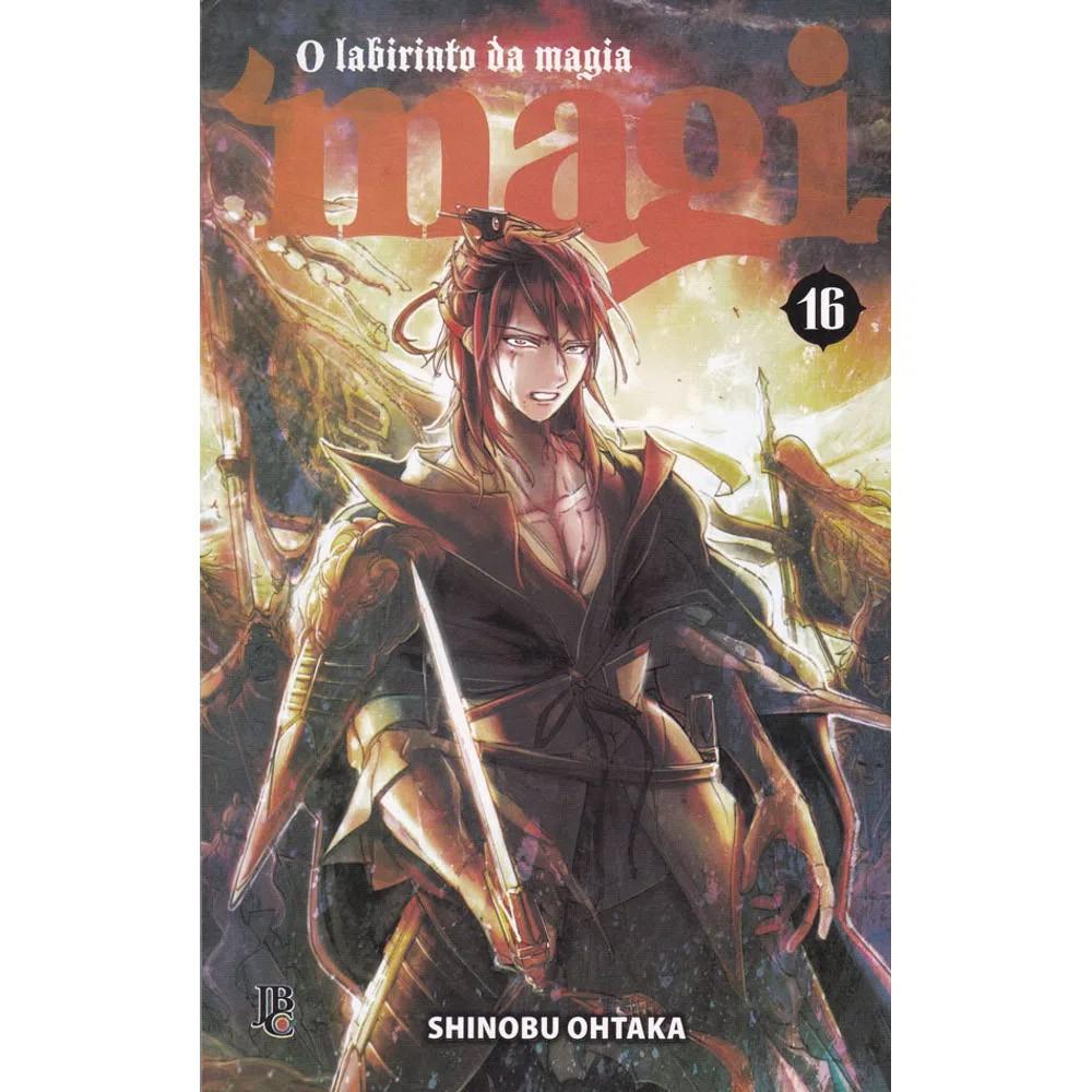 Magi O Labirinto da Magia - Volume 16