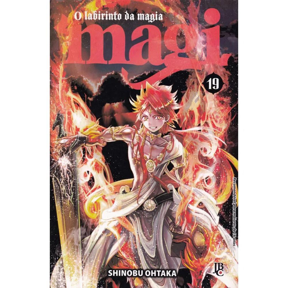 Magi O Labirinto da Magia - Volume 19
