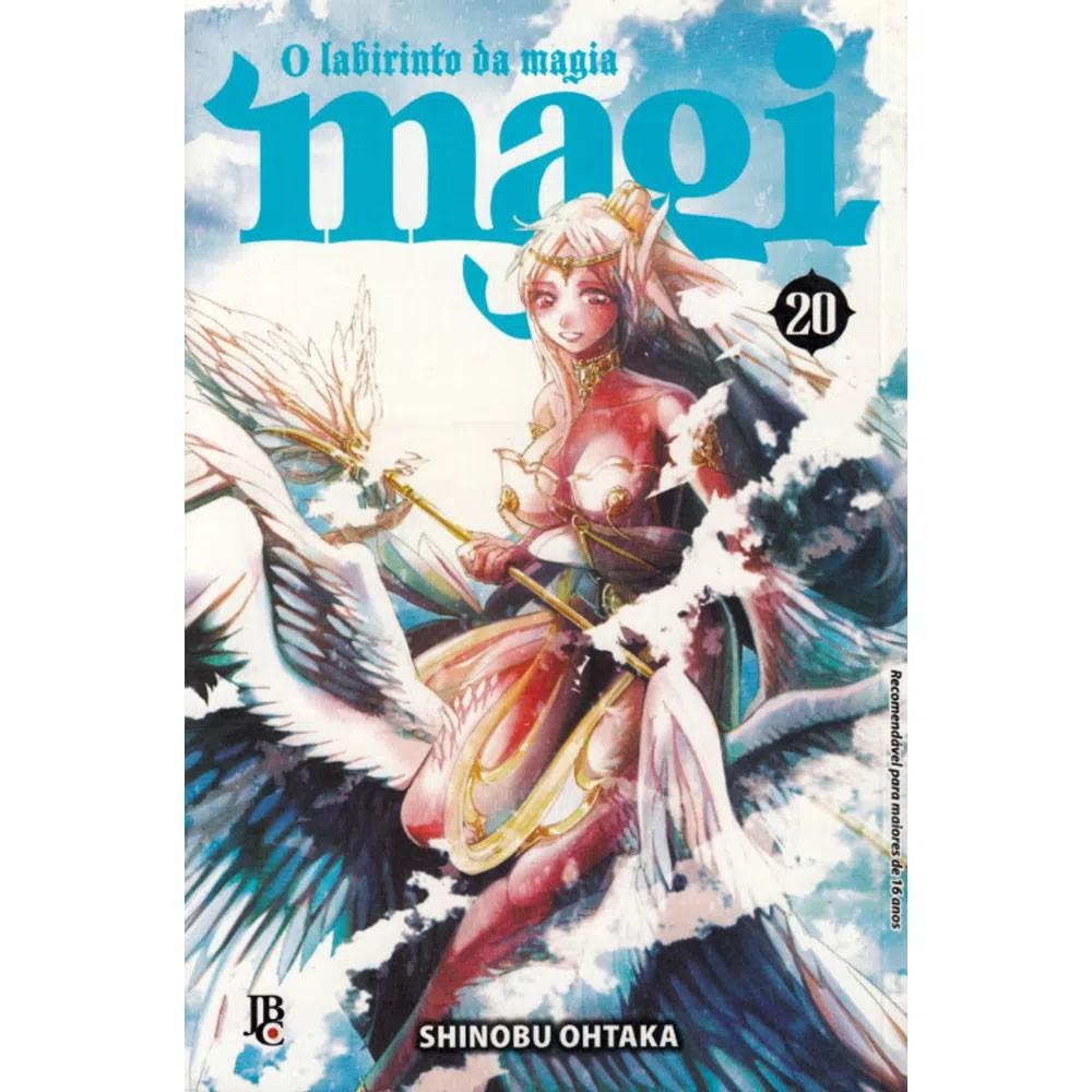 Magi O Labirinto da Magia - Volume 20