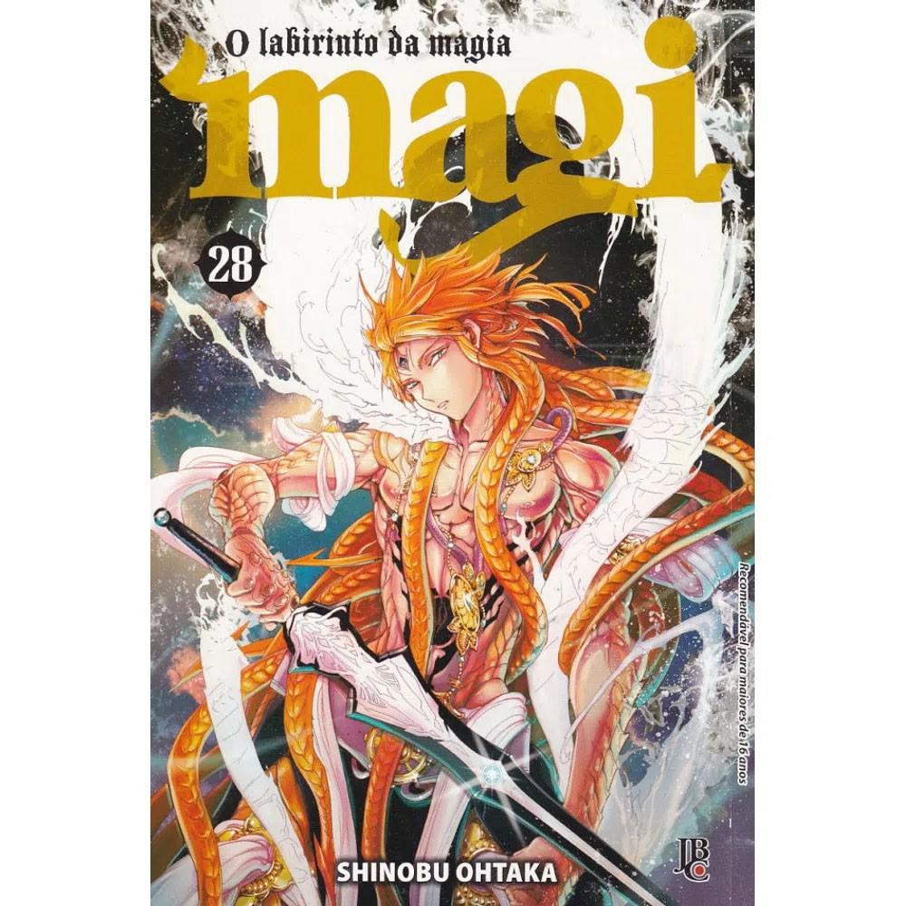 Magi O Labirinto da Magia - Volume 28