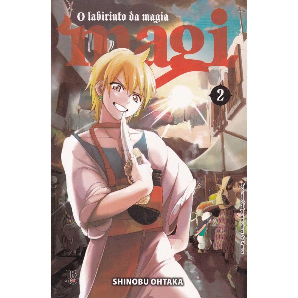 Magi O Labirinto da Magia - Volume 02 - Usado