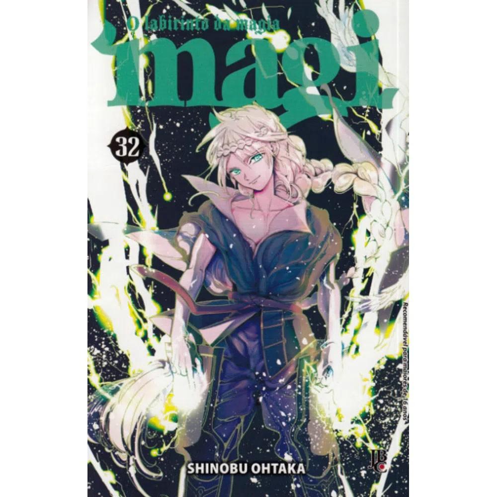Magi O Labirinto da Magia - Volume 32 - Usado