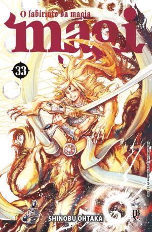 Magi O Labirinto da Magia - Volume 33 - Usado