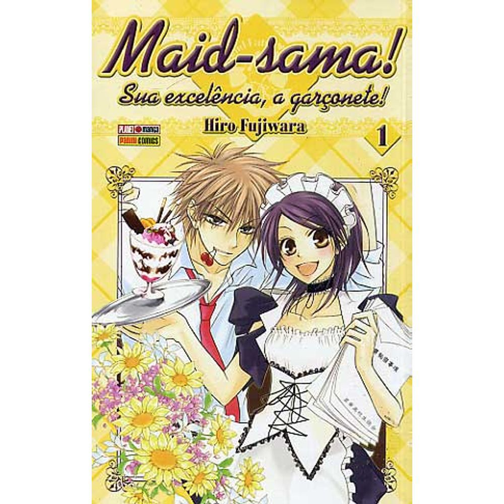 Maid-Sama! Sua Excelência, a Garçonete - Volume 01 - Usado