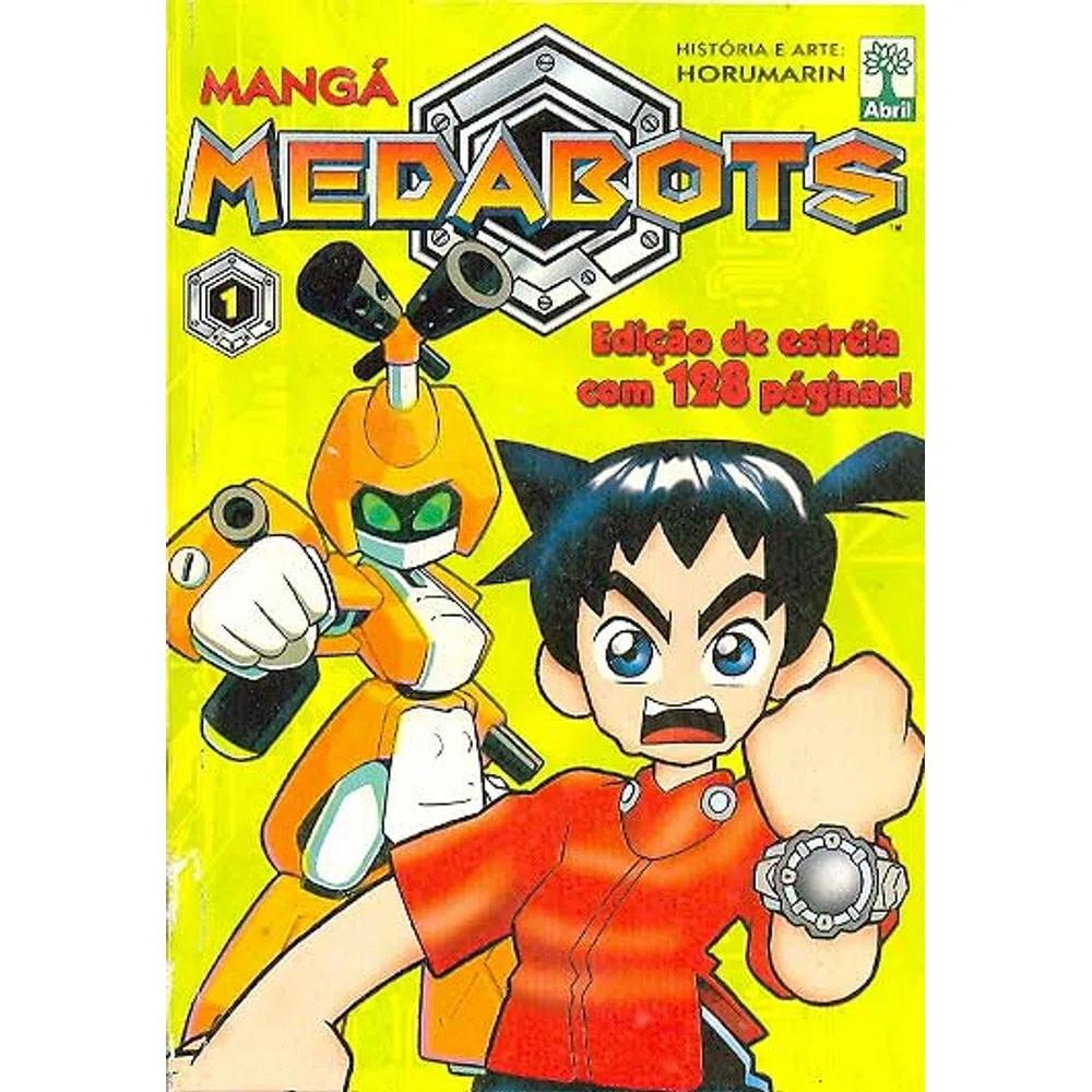 Mangá Medabots - Volume 01 - Usado