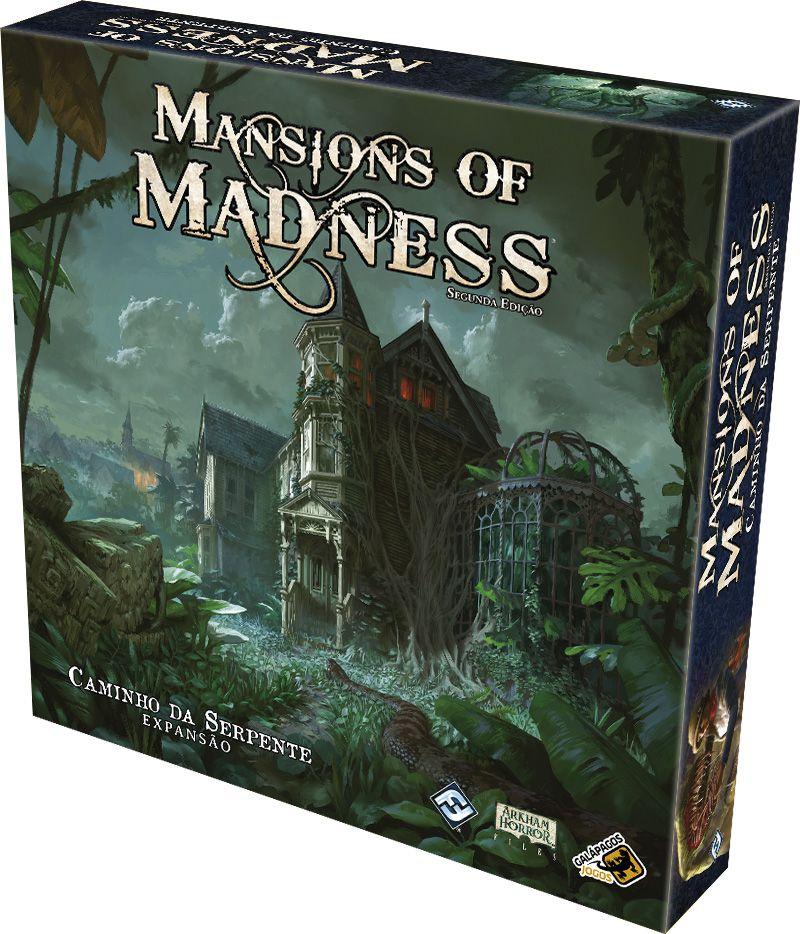 Mansions of Madness Caminho da Serpente - Expansão