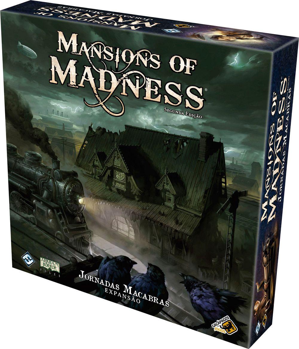 Mansions of Madness Jornadas Macabras - Expansão