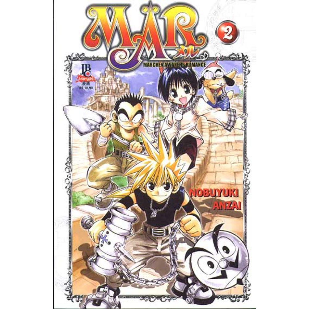 MÄR - Volume 02 - Usado