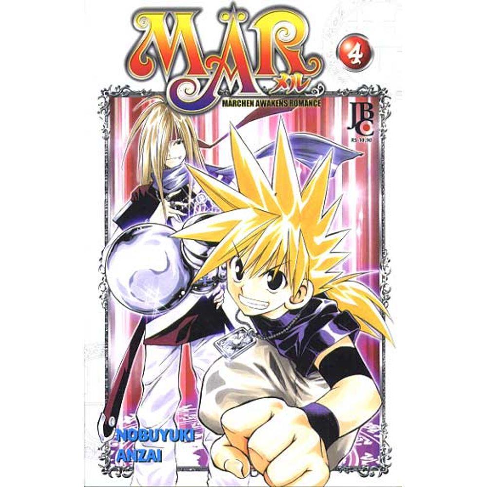 MÄR - Volume 04 - Usado