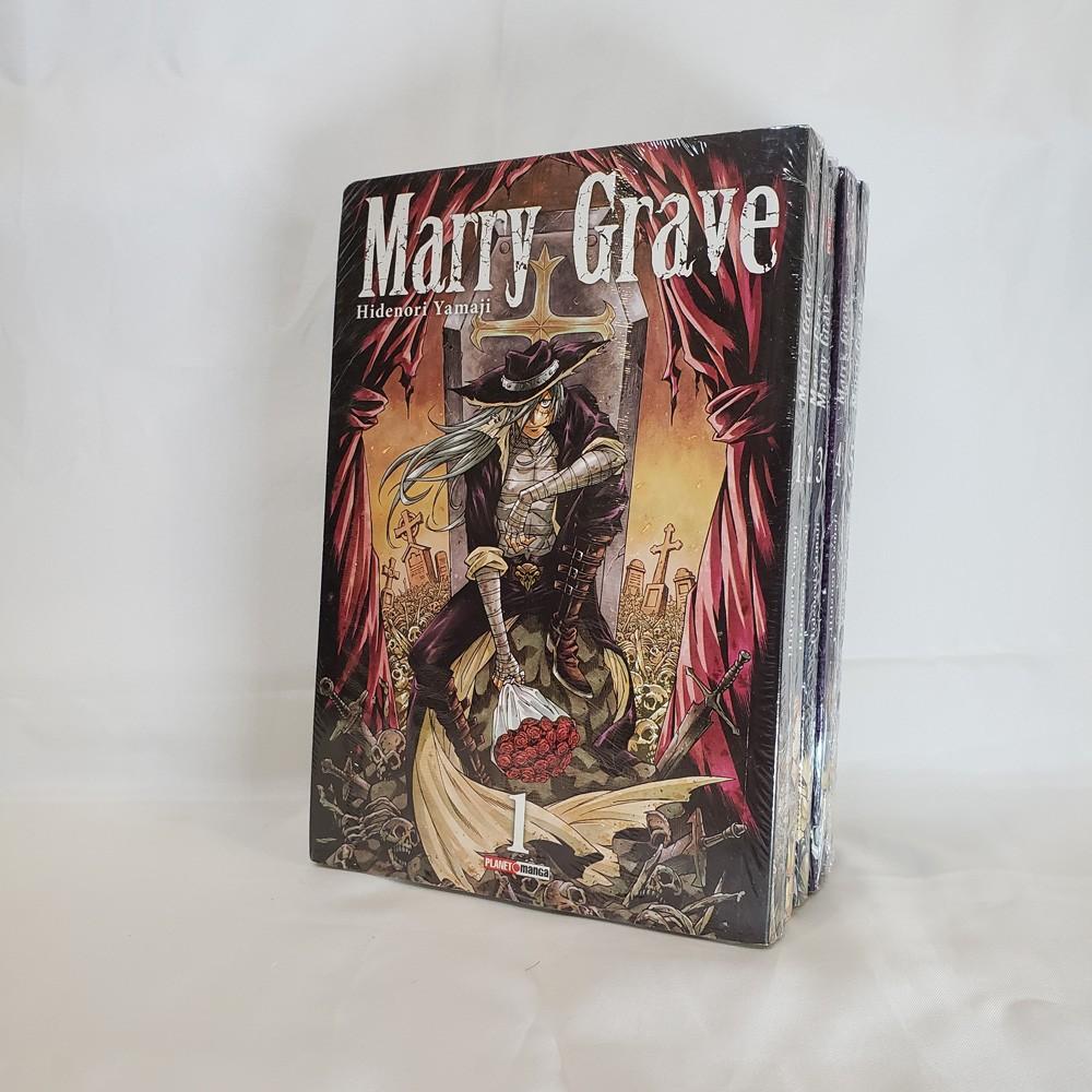 Marry Grave - 1 ao 5 - Coleção Completa - Pack