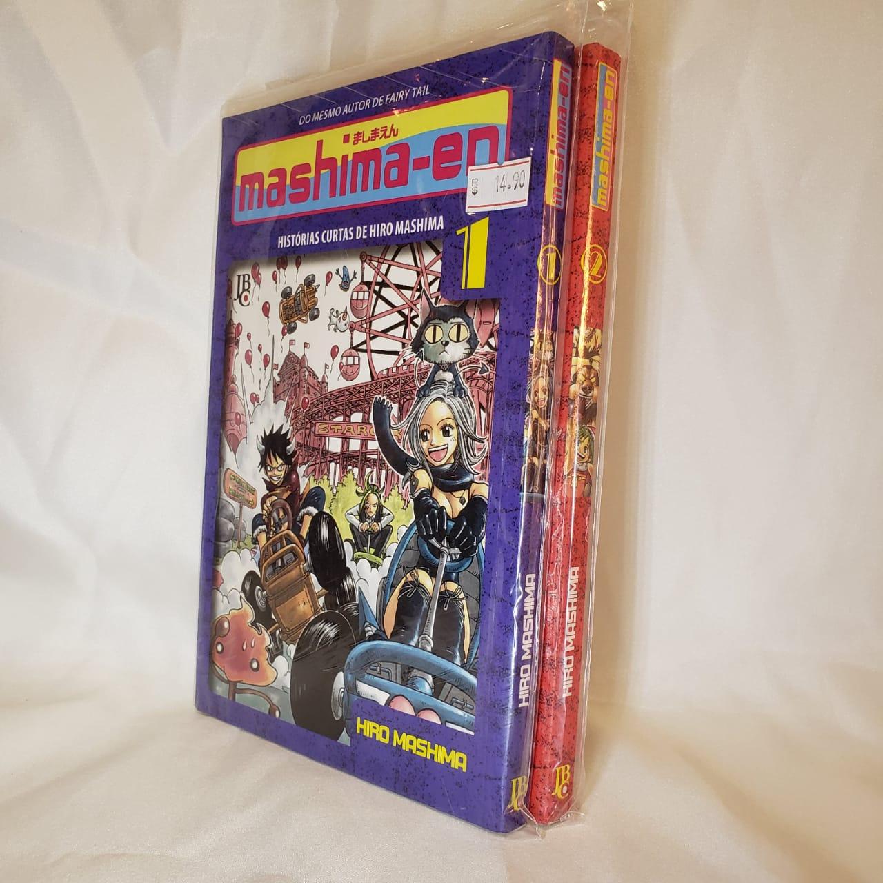 Mashima-En - 1 e 2 - Coleção Completa - Pack