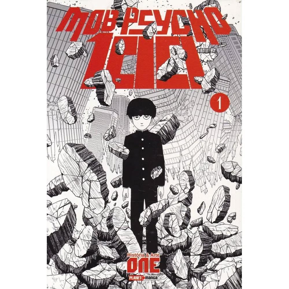 Mob Psycho 100 - Volume 01 - Usado