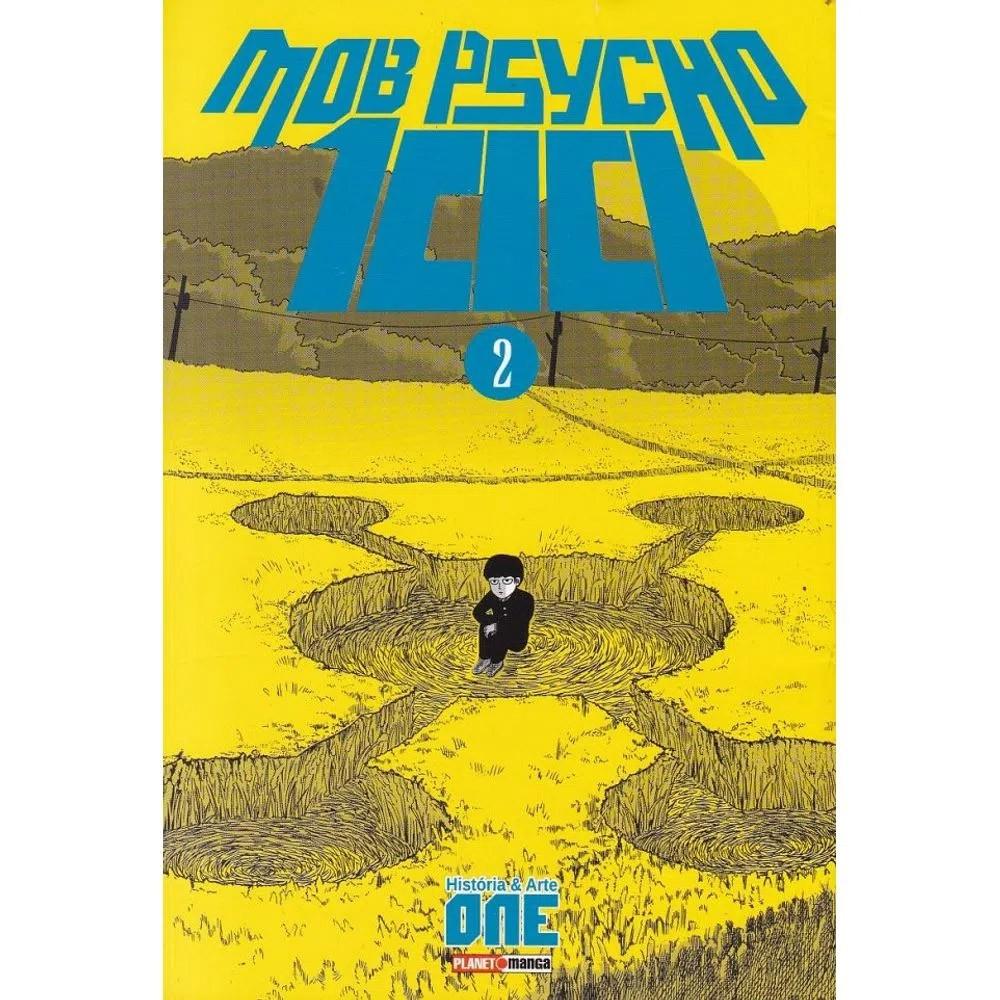 Mob Psycho 100 - Volume 02 - Usado