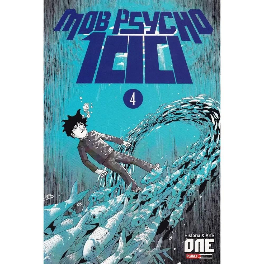 Mob Psycho 100 - Volume 04 - Usado