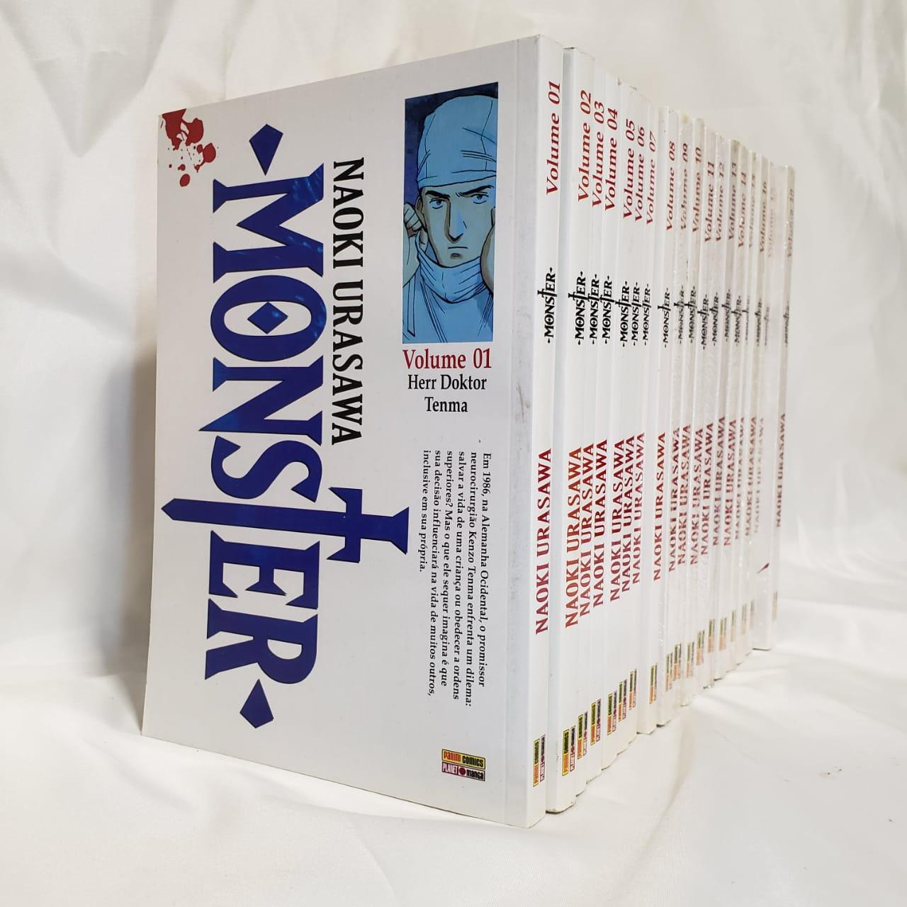 Monster - 1 ao 18 - Coleção Completa - Pack