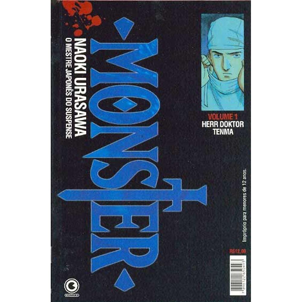 Monster - 1ª Edição - Volume 01 - Usado