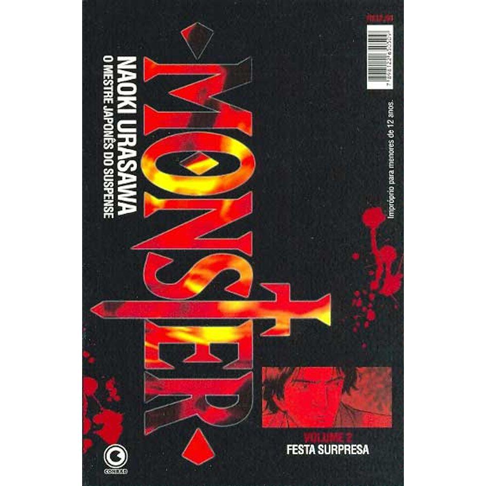 Monster - 1ª Edição - Volume 02 - Usado