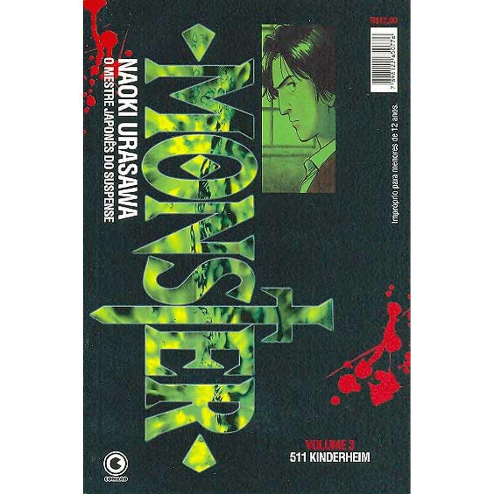 Monster - 1ª Edição - Volume 03 - Usado