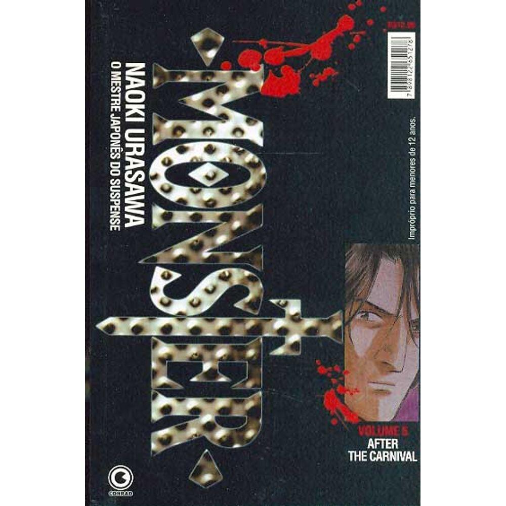Monster - 1ª Edição - Volume 05 - Usado