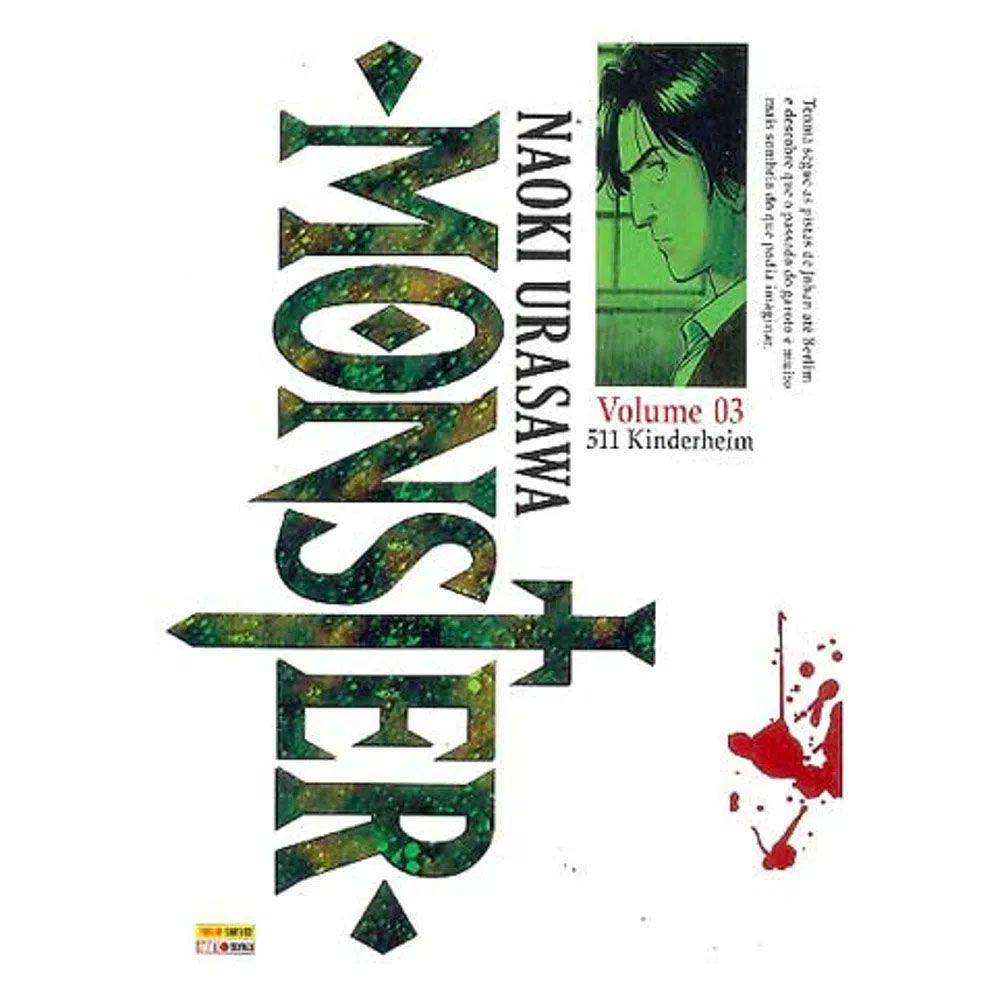 Monster - Volume 03 - Usado