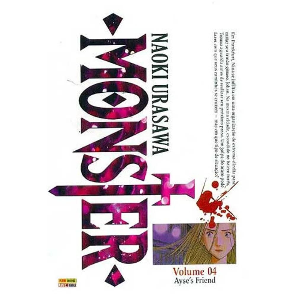 Monster - Volume 04 - Usado (Capa com Leve Dano)