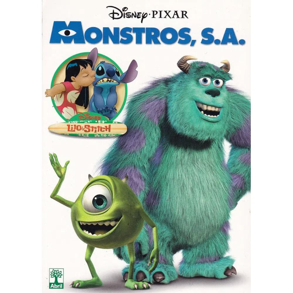 Monstros S.A. e Lilo & Stitch - Volume Único - Usado