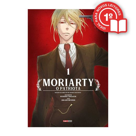 Moriarty - O Patriota - Volume 01