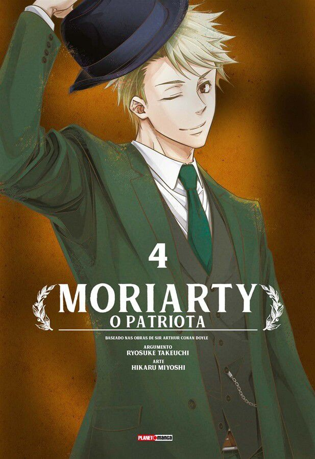 Moriarty - O Patriota - Volume 04