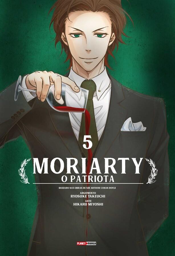 Moriarty - O Patriota - Volume 05