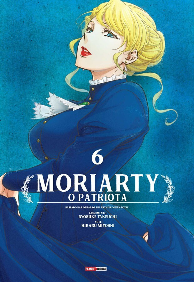 Moriarty - O Patriota - Volume 06