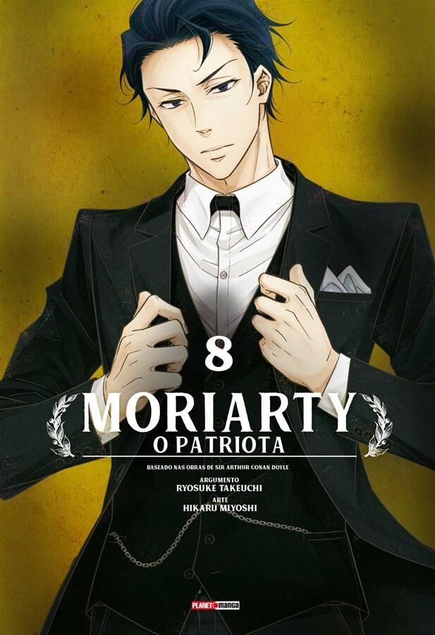 Moriarty - O Patriota - Volume 08