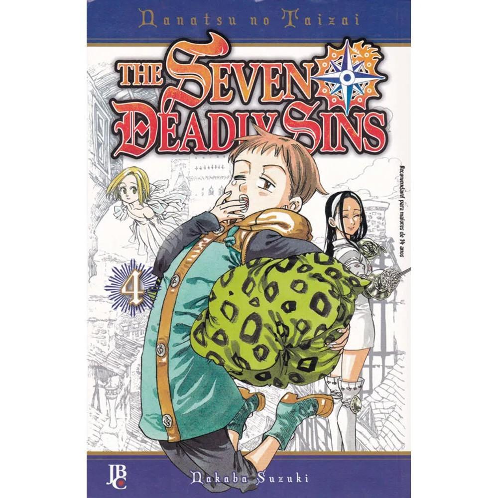 The Seven Deadly Sins / Nanatsu no Taizai - Volume 04 - Usado