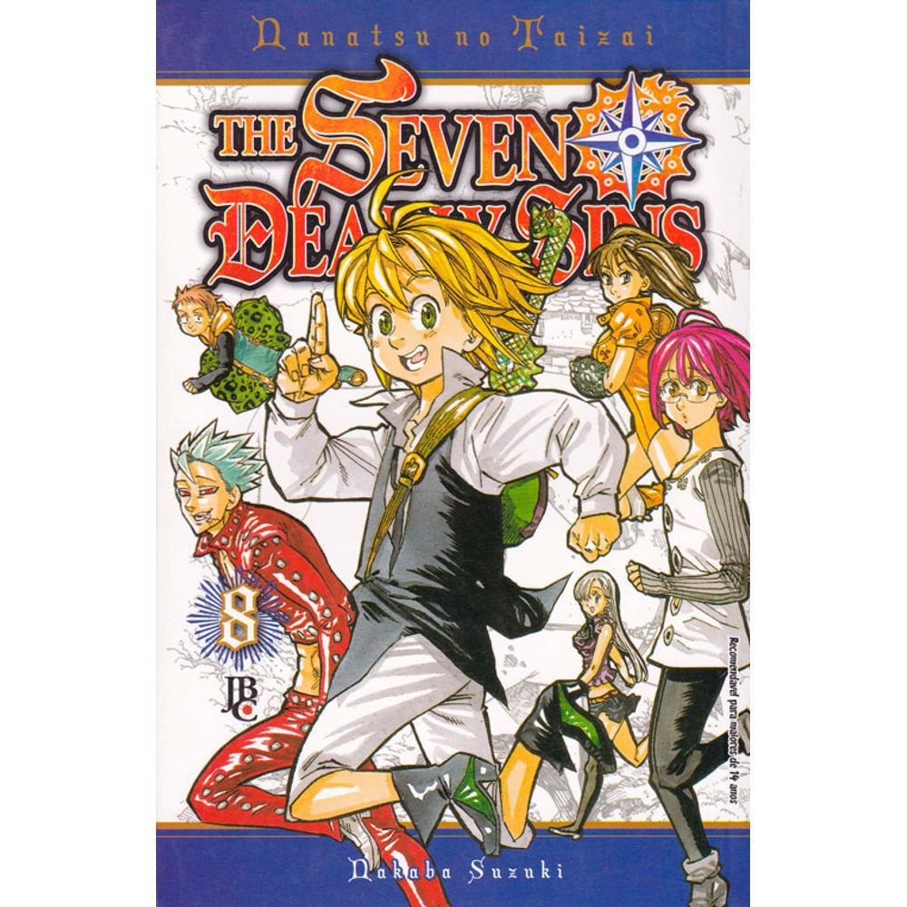 Nanatsu no Taizai / The Seven Deadly Sins - Volume 08 - Usado
