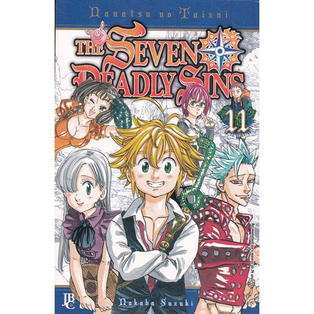 Nanatsu no Taizai / The Seven Deadly Sins - Volume 11 - Usado