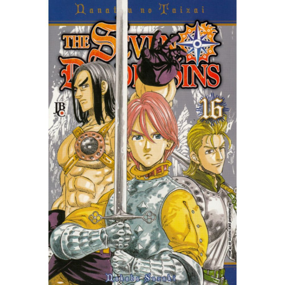 Nanatsu no Taizai / The Seven Deadly Sins - Volume 16