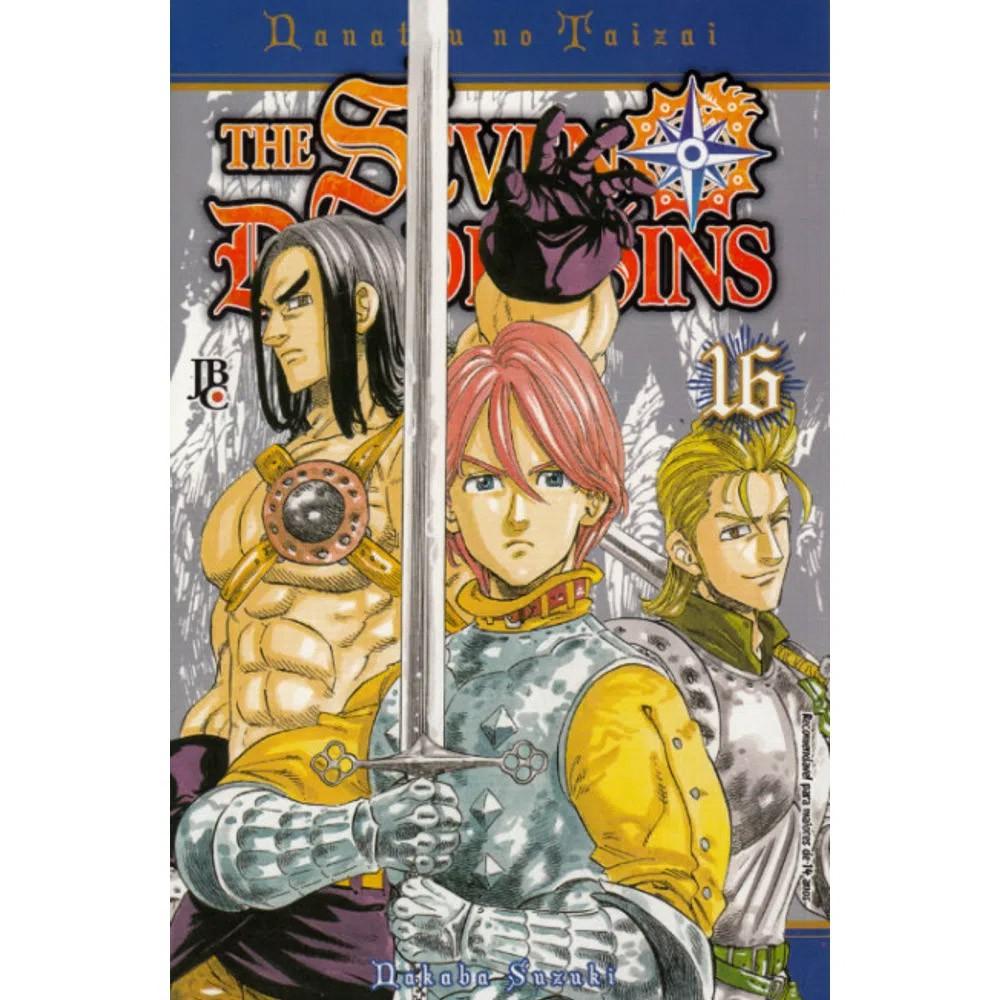 The Seven Deadly Sins / Nanatsu no Taizai - Volume 16 - Usado
