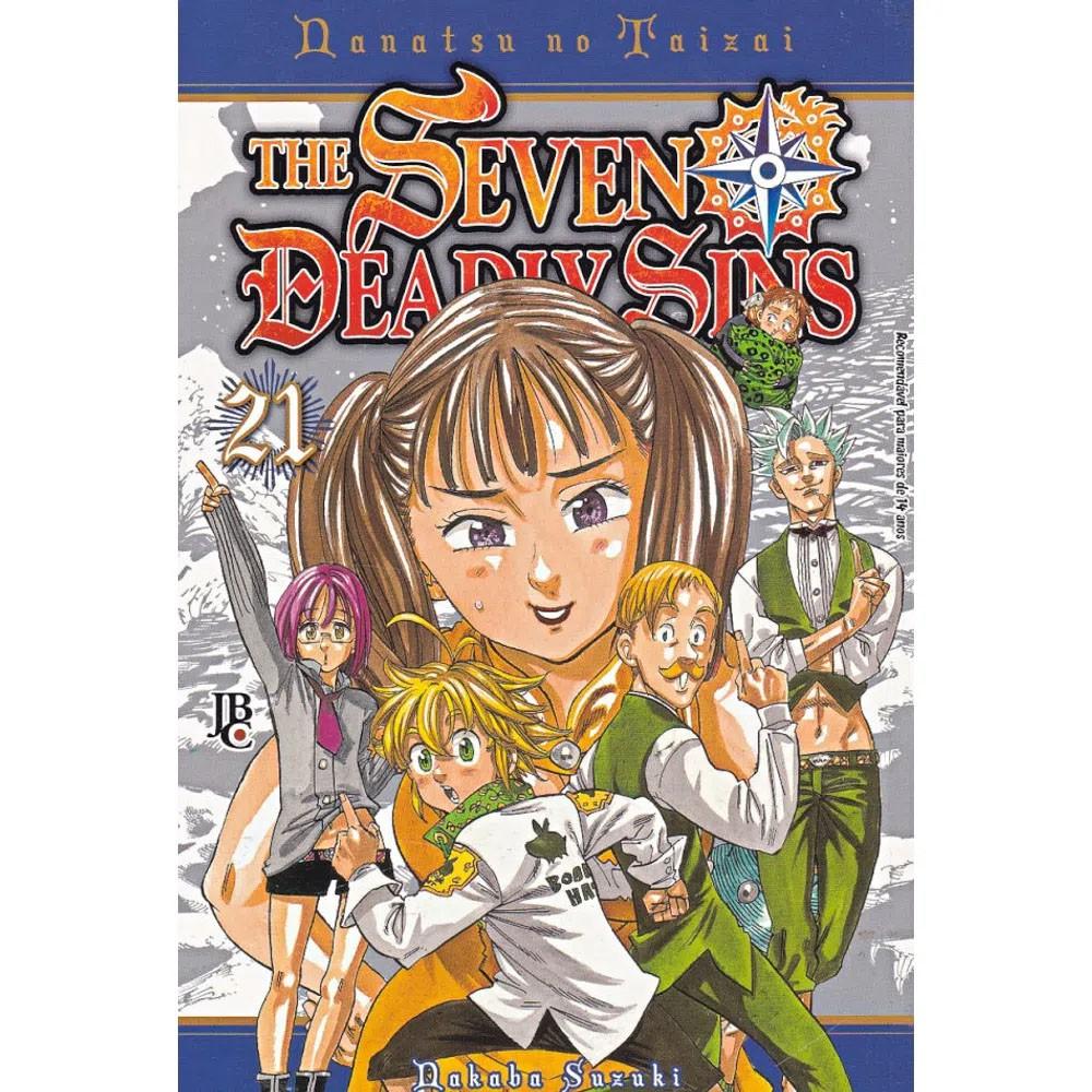 The Seven Deadly Sins / Nanatsu no Taizai - Volume 21 - Usado